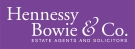 Hennessy Bowie & Co, Lenzie branch logo