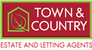 Town & Country Estate Agents, Wrexham branch logo