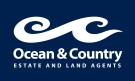 Ocean & Country Estate & Land Agents, Looe logo