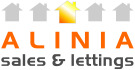 Alinia Sales & Lettings, Swadlincote branch logo