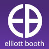 Elliott Booth, Blackpool logo