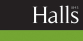 Halls Estate Agents, Shrewsbury logo