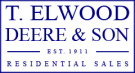 T Elwood Deere & Son, Porthcawl logo