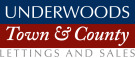 Underwoods Town and County, Wellingborough Lettings branch logo