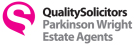 QualitySolicitors Parkinson Wright Estate Agents, Worcestershire branch logo