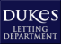 Dukes Letting Department , Eastbourne logo