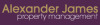 Alexander James Property Management, Eaglescliffe logo