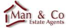 Man & Co Estate Agents, Kingsbury branch logo