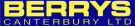 Berrys Canterbury Ltd, Canterbury branch logo
