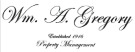 William A Gregory, Sheffield branch logo