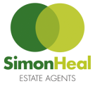 Simon Heal Estate agents, Shepton Mallet logo