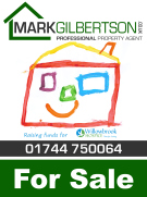 MarkGilbertson.co.uk, St. Helens branch logo