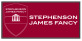 Stephenson James Fancy, Esher logo