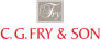 Poundbury development by C. G. Fry & Son logo