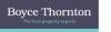 Boyce Thornton, Cobham logo