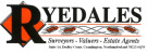 Ryedales Surveyors, Valuers and Estate Agents, Cramlington branch logo