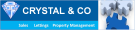 Crystal & Co, Middlesex branch logo