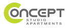 Concept Studio Apartments, London branch logo