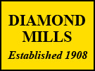 Diamond Mills & Co, Felixstowe branch logo