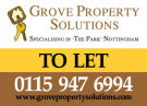 Grove Property Solutions, Nottingham branch logo