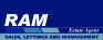 Ram Estate Agents, Ilford logo