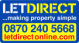 LetDirect, London logo