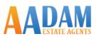 Aadam Estate Agents, Oldham branch logo