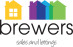 Brewers Sales and Lettings, Portsmouth logo