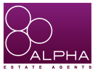 Alpha Accommodation, London branch logo