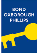 Bond Oxborough Phillips, Bideford branch logo