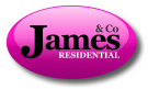 James & Co Residential, Queensbury  branch logo