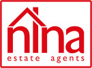 Nina Estate Agents, Barry logo
