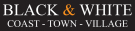 Black & White Estates, Folkestone logo