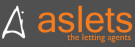 Aslets, The Letting Agents, Colwyn Bay branch logo