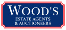 Woods Estate Agents & Auctioneers, Chudleigh branch logo