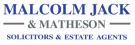 Malcolm Jack & Matheson, Dunfermline branch logo