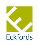 Eckfords Property Scene, Bourne branch logo
