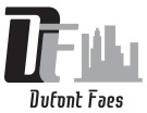 DuFont Faes , London logo