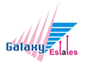 Galaxy Estates, London branch logo