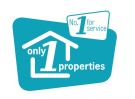 Only 1 Properties, Larbert logo