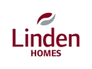 Watercolour development by Linden Homes South-East logo