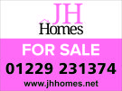 J H Homes, Ulverston branch logo