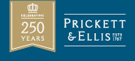 Prickett & Ellis, East Finchley branch logo