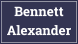Bennett Alexander, Borehamwood logo