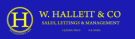 W. Hallett & Co, Kew branch logo