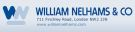 William Nelhams & Co , London branch logo
