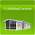 My Holiday Caravan, Milford on sea logo