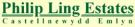 Philip Ling Estates, Newcastle Emlyn branch logo