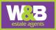 W & B Estate Agents LLP, Halesowen logo
