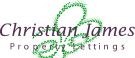 Christian James Property, Camberley branch logo